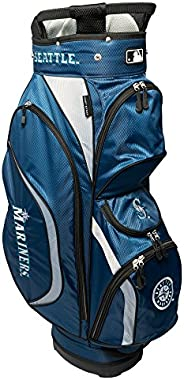 Team Golf MLB Clubhouse Golf Cart Bag, Lightweight, 8-Way Top with Integrated Handle, 6 Zippered Pockets, Padd