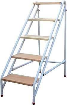 MIAOLIDP Taburete plegable para el hogar - escalera de madera maciza taburete estante para flores cambio de zapato banco ascender escalera Simple y elegante (Size : 110cm): Amazon.es: Bricolaje y herramientas