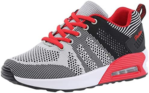Mujer Deportivo Zapatos Trabajo Cómodos Malla Informal Calzado,Ata Para Arriba Calzado,Aire Libre Zapatillas Running Zapatos para Correr Gimnasio Calzado,Conducción Zapatillas (39, Gris): Amazon.es: Instrumentos musicales