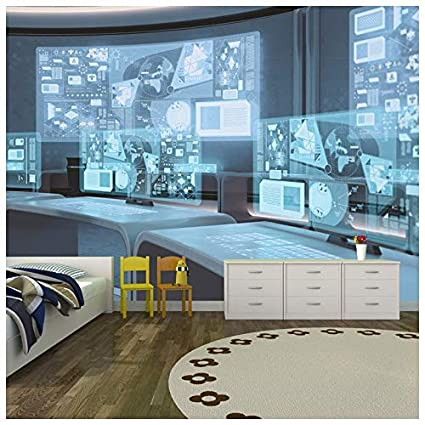 Amazon Com Azutura Space Station Wall Mural Office Photo