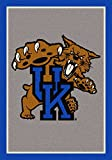 NCAA Team Spirit Rug - Kentucky Wildcats (Vertical), 7'8'' x 10'9''