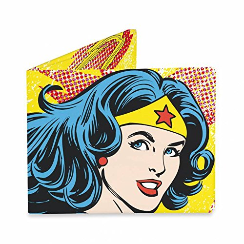 Pa Design - Cartera de Papel Tyvek indéchirable - Modelo Wonder Woman Vintage: Amazon.es: Oficina y papelería