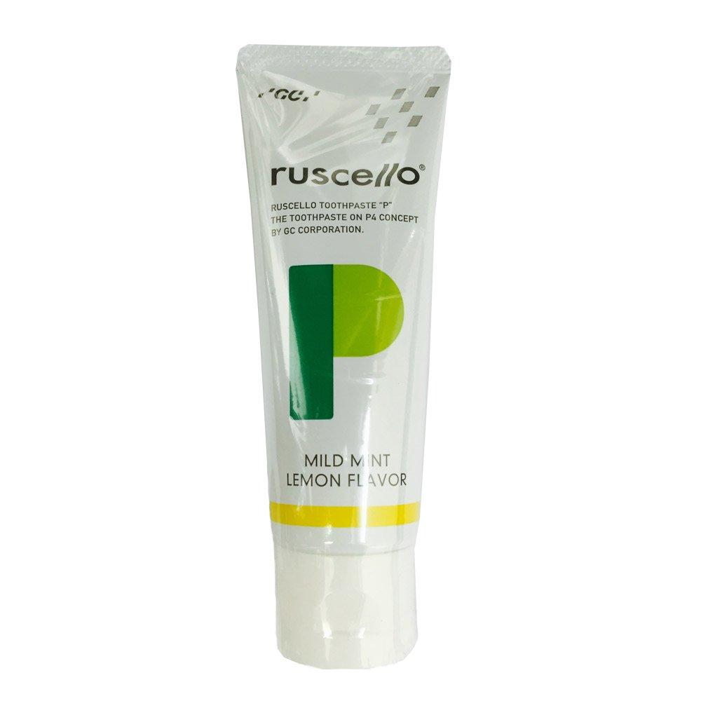 GC Ruscello Toothpaste P (Perio) 1 Count Mild Mint (Lemon Flavor)