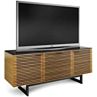 BDI Corridor 8177 Triple Wide TV Cabinet (White Oak)