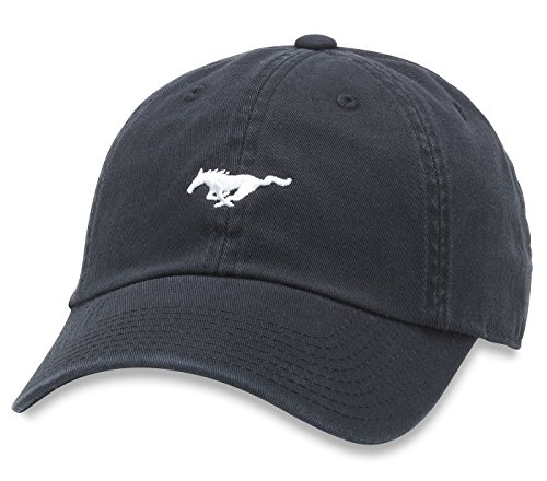 American Needle Micro Slouch Ford Mustang Adjustable Hat (Black)