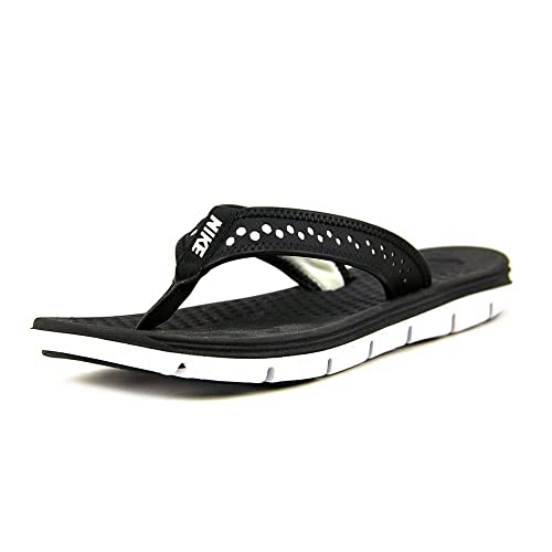 5bf39c3cbf0 Nike Women s Flex Motion Thong Sandal Black White  Amazon.ca  Shoes ...