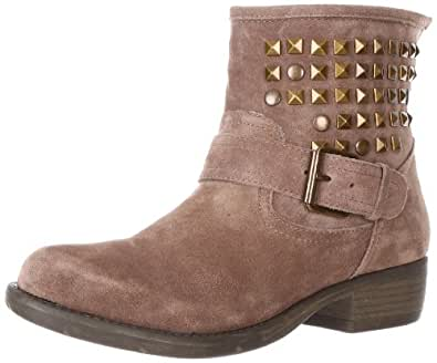 Steve Madden Women's Outtlaww Ankle Boot,Taupe Suede,9 M US