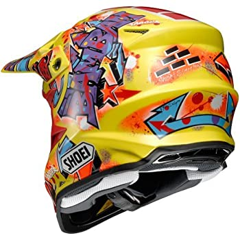 Shoei Barcia VFX-W Off-Road Motorcycle Helmet - TC-3/Small