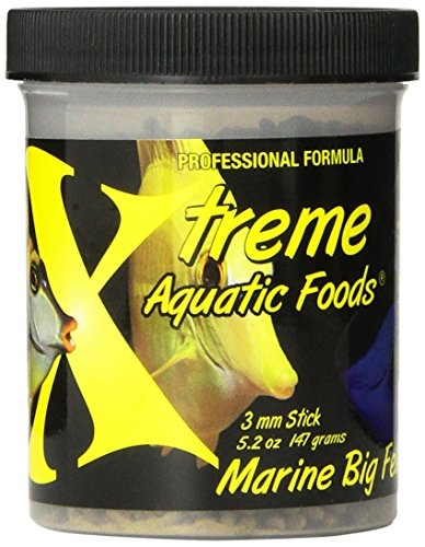 Xtreme Aquatic Foods Marine Big Fella Fish Food, 5.2-Ounce