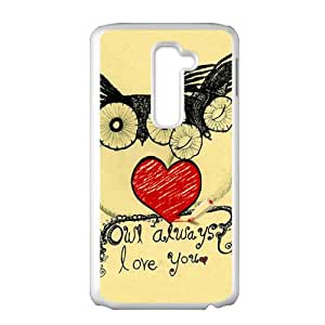 Lovely owls unique durable fashion Cell Phone Case for LG G2
