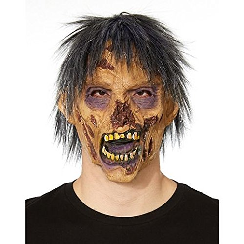 Zombie Flo Costume (Costume Beautiful Decaying Face Zombie Mask)