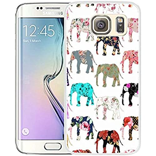 S7 Edge Case Samsung Galaxy S7 Edge Case Viwell TPU Soft Case Rubber Silicone Aztec Elephant Sales