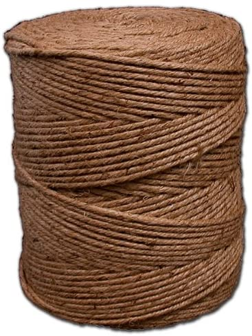 12900-Feet T.W Evans Cordage Co. T.W Evans Cordage 06-030 3 Poly 100-Percent Cotton Twine Cone