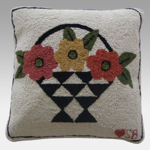 (Susan Branch - A Day for Flowers - Pillow)