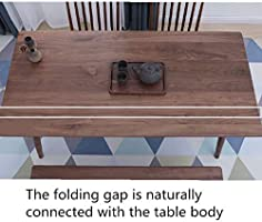 Mesa de Comedor Moderna Madera Nórdica Mesa Plegable Moderna ...
