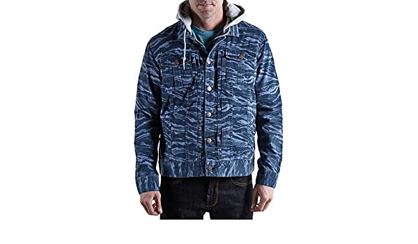 8355c0386370f Amazon.com: LRG Mens Core Collection Jacket, Navy Tiger Camo, Small:  Clothing