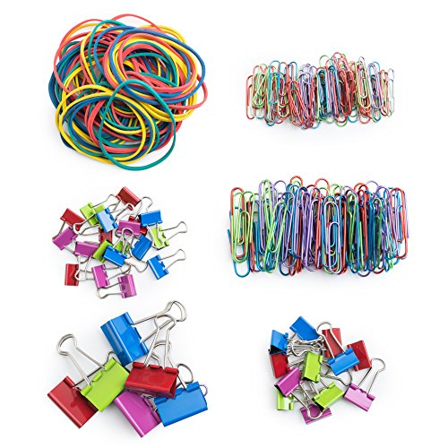 Mr Pen Assorted Colored Binder Clips Paper Clips