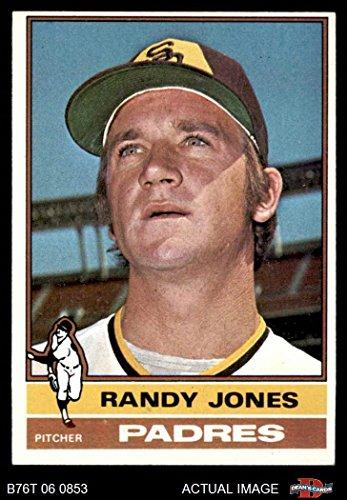 (1976 Topps # 310 Randy Jones San Diego Padres (Baseball Card) Dean's Cards 5 - EX Padres)