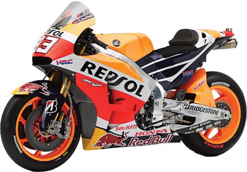 New Ray New 1:12 Motorcycles Collection - Orange Honda REPSOL Team - Honda RC213V Marc Marquez #93 Model Car Toys
