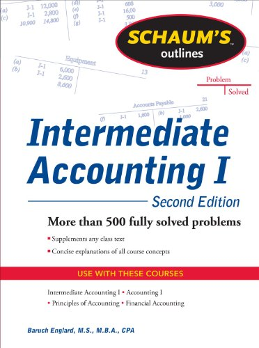 Schaums Outline of Intermediate Accounting