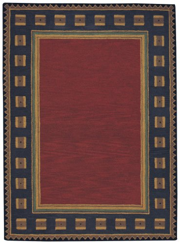100% Wool Capel Rugs (Capel Rugs Castle Rock Rectangle Hand Tufted Area Rug, 3 x 5',)