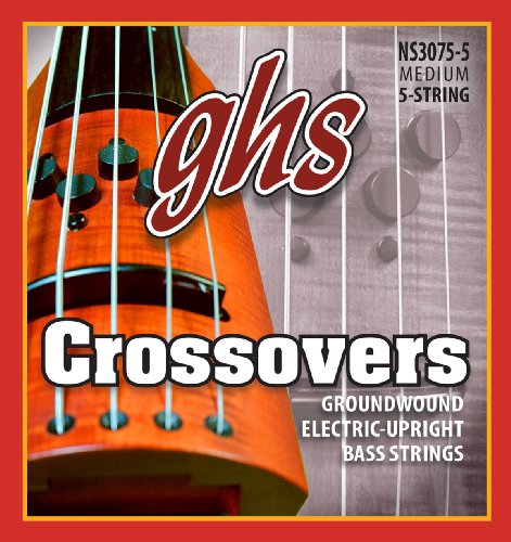 GHS Crossovers NS Design 5-String Upright Electric Bass Strings (47-128) ()