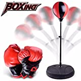 Tiean New DIY Children Training Fitness Boxing Sand Bag Punching Bag Toy (Multicolor)