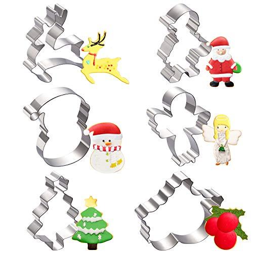 🥇 Moldes para Galletas Navidad