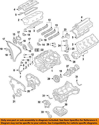 Nissan 11110-9N00A, Engine Oil Pan