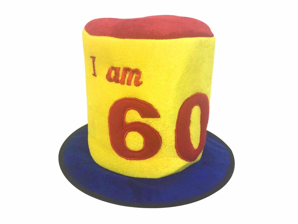 Birthday Hat Ages 60 Amazoncouk Toys Games
