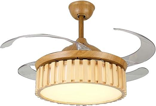 Ventiladores de techo con lámpara Ventilador De Techo Con Luz Ventilador De Techo De Estilo Chino