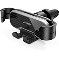 UGREEN Car Phone Holder Air Vent Mount Gravity Auto Clamp Retractable Cradle Clip Compatible for iPhone 12 SE 11 Pro Max…