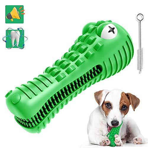 Juguete para Perros Indestructible,Juguetes interactivos Perros,Juguetes Morder Perros Cocodrilo,Productos Perros,Juguete Perro Masticar con Sonido,Cepillo de Dientes Perro para Todo Tipo de Perros.