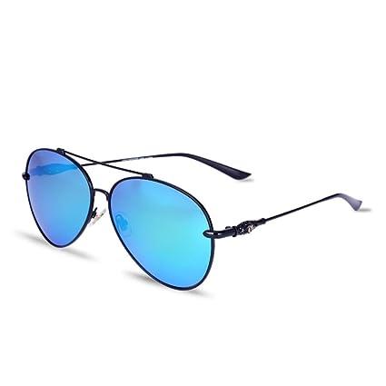 Alger Modelos masculinos y femeninos de moda gafas polarizadas para viajar en coche, black frame