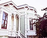 San Francisco Photography Victorian Home Photo 8x10 inch Print