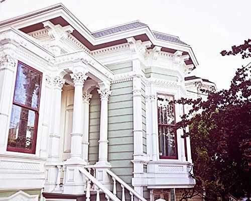 San Francisco Photography Victorian Home Photo 8x10 inch Print by Audra Edgington Fine Art