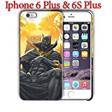 Black Panther (for Iphone 6 Plus / Iphone 6s Plus) 5.5in Hard Case Cover (black7)
