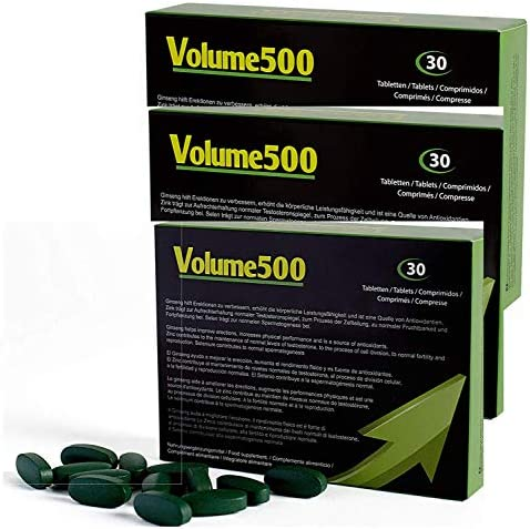 VOLUME500 Increase quantity quality tablets product image