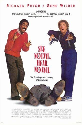 See No Evil Hear No Evil POSTER Movie (11 x 17 Inches - 28cm x 44cm) (1989)