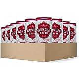 Wonder Drink Kombucha, Organic Cherry Sparkling Fermented Tea, 8.4oz Can (Pack of 24) - Packaging May Vary
