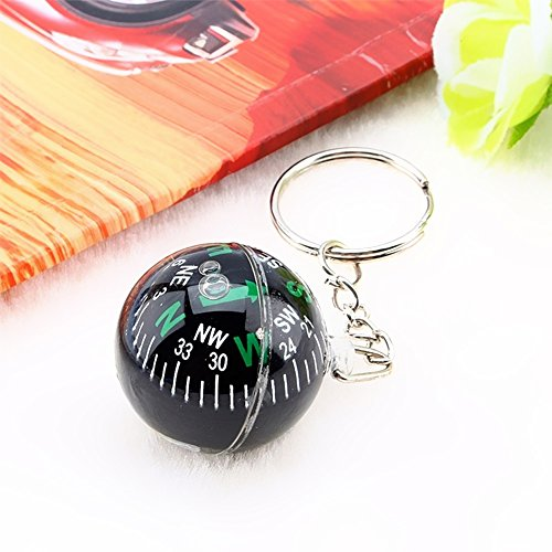 Ezyoutdoor Ball Compass Compasses Keychain