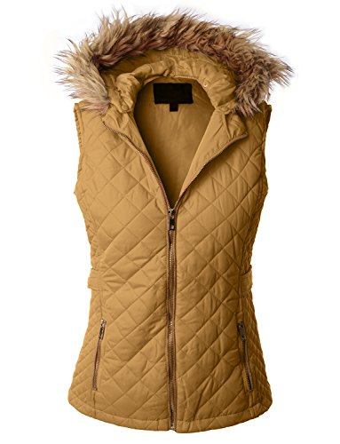 Gold Hooded Vest - 9