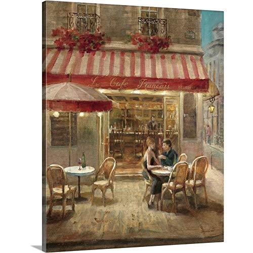 - Paris Cafe II Canvas Wall Art Print, 16