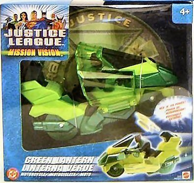JUSTICE LEAGUE MISSION VISION GREEN LANTERN