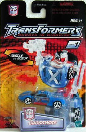 Transformers: Robots in Disguise Basic Crosswise Action Figure by Hasbro