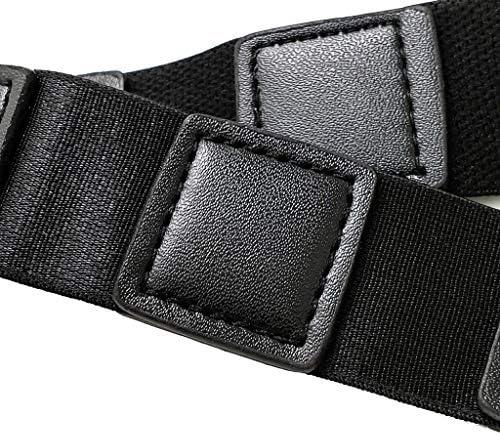 シャツホルダー シャツステイ 滑り止めベルト 外漏れ/シワを防止する 調整可能 固定ベルト
