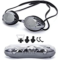 Swimming Goggles Anti Fog Shatterproof UV Protection,No...