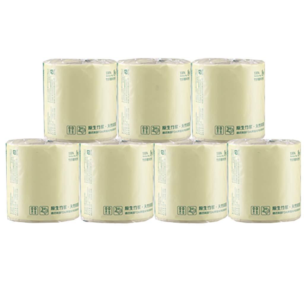 肌にやさしい柔軟なトイレットペーパー、食品グレードの安全性試験、3層肥厚、生分解性、30ロール B07R95DCQ4