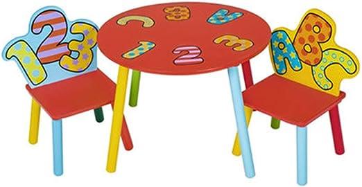 Juegos de mesas y sillas Mesa para Niños Dibujos Animados De ...