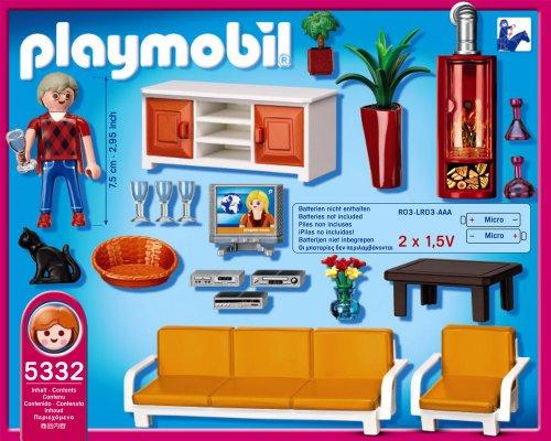 Playmobil 5332 - Behagliches Wohnzimmer: Amazon.de: Spielzeug
